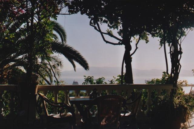 Gibraltar Rock Hotel balcony
